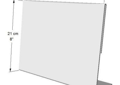 Portador Horizontal de información (1 lado) Tamaño: Hoja de Carta